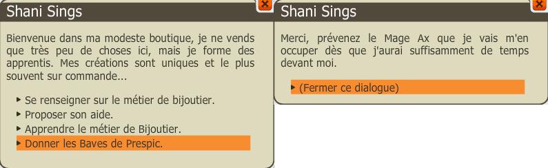 Céréale killeur shani sings