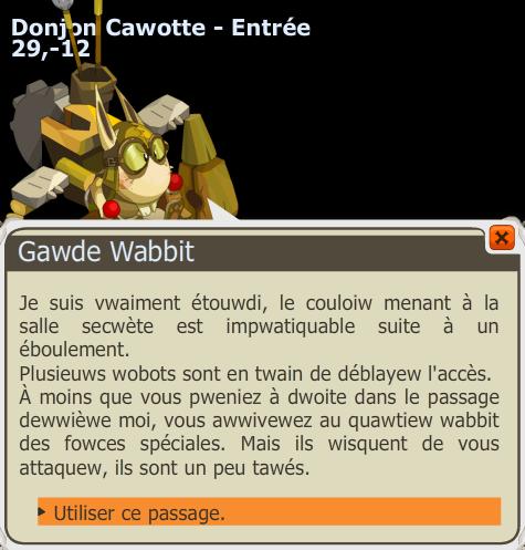 Donjon Cawotte Donjon Dofus 20