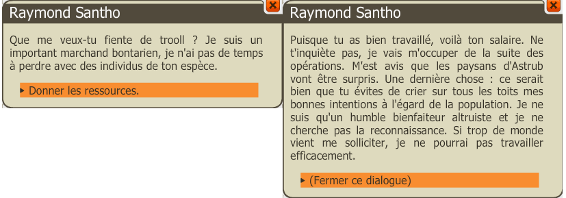 dofus raymond santho