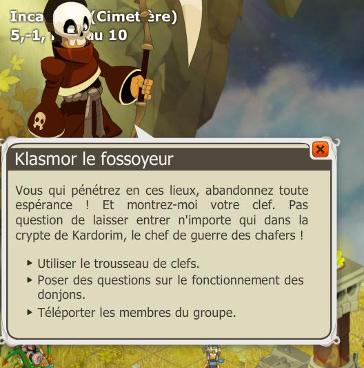 Dialogue Klasmor le fossoyeur