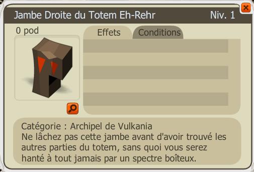 Cratère d'Admission - Quête Dofus 2.0